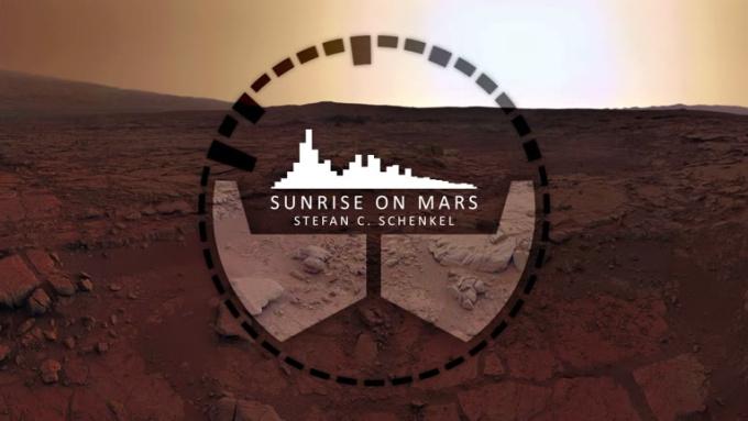 Sunrise on mars sample