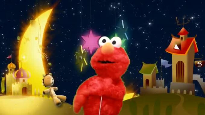 elmo puppet message gig for kristytrede  C