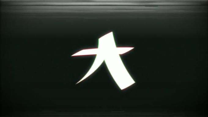 _Logo Ident Glitch VHS