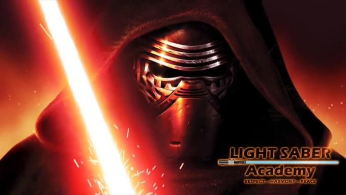 kylo ren LightSaber Academy 720p