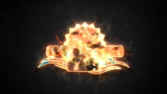 Metal Fire Logo Animation-01