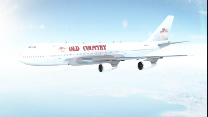 Plane Animation_Old country
