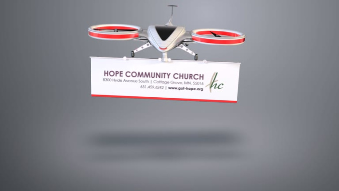 Hope Community drone intro