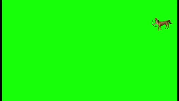 Centaurs green screen