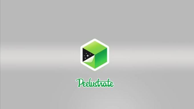 Peelustrate Website Splash