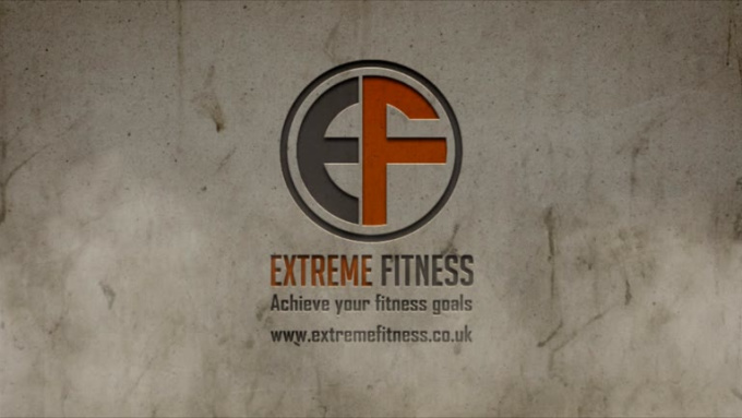 EF Crumble Effect Logo Animation in Full HD - Final