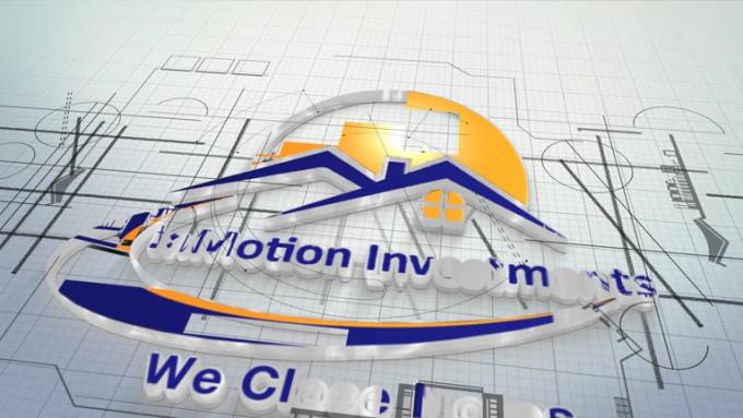Architect Logo Intro Full HD 1920 x 1080p