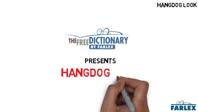 hangdog look