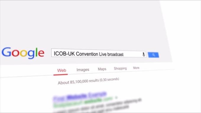ICOB UK google advertisement