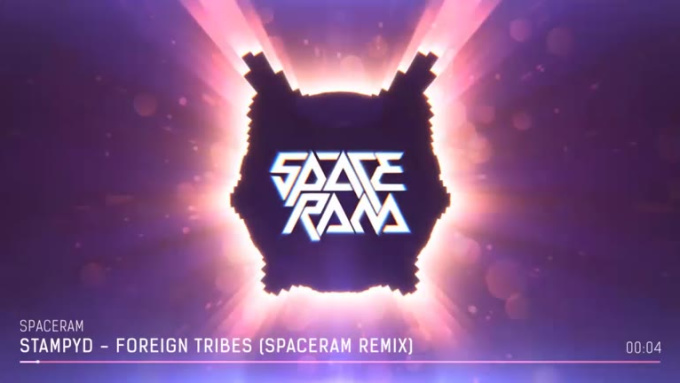 Stampyd__Foreign_Tribes__Spaceram_Remix__Original_Mix__MusicVisual_Preview