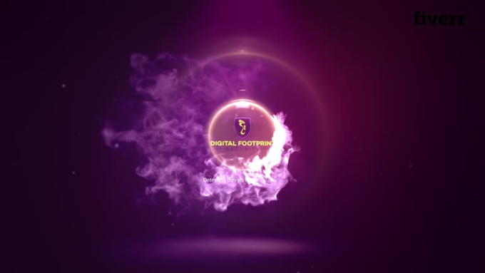 Pink Effect Fire Intro Video