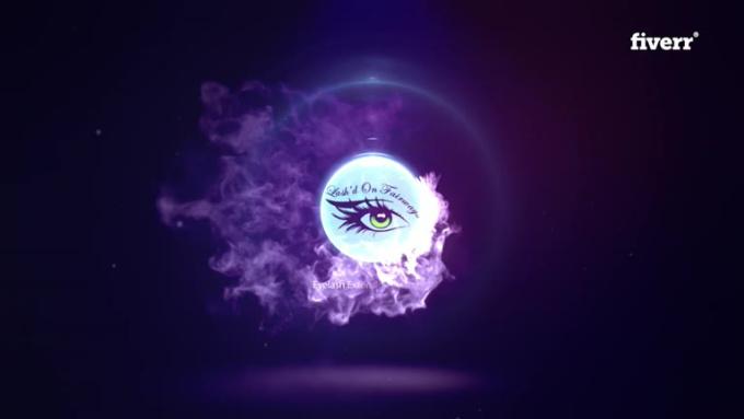 Purple fire intro