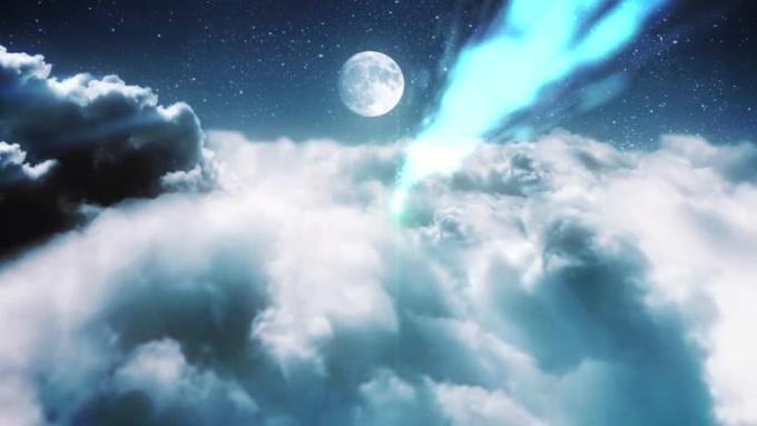 pentofa clouds in a night sky done