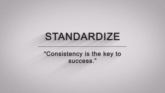 Standardize HD