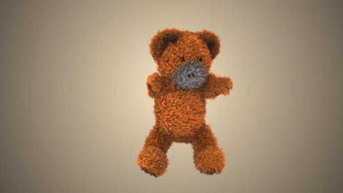 Shackspr - Dancing teddy bear intro animation SFX AE