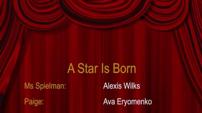 a star is born produce curtains