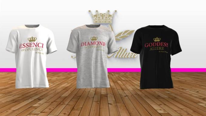 Tshirt Royal Allure