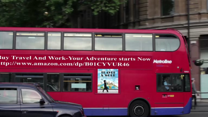 Buy Travel And Work-Your Adventure starts Now - bus ad clip
