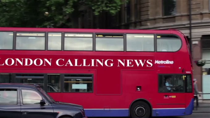 LONDON CALLING NEWS with music 2