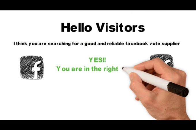 do 150 Real Facebook Votes for Contest - fiverr
