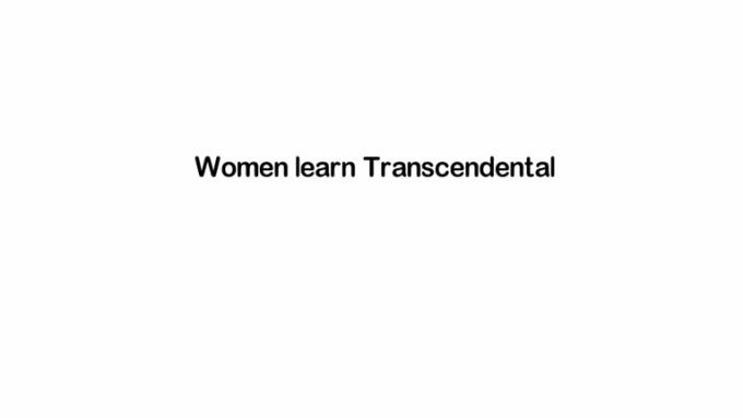 TRANSCENDAL-MEDITATION