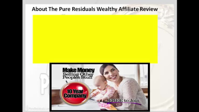 Wealthy Affiliate Review vedio