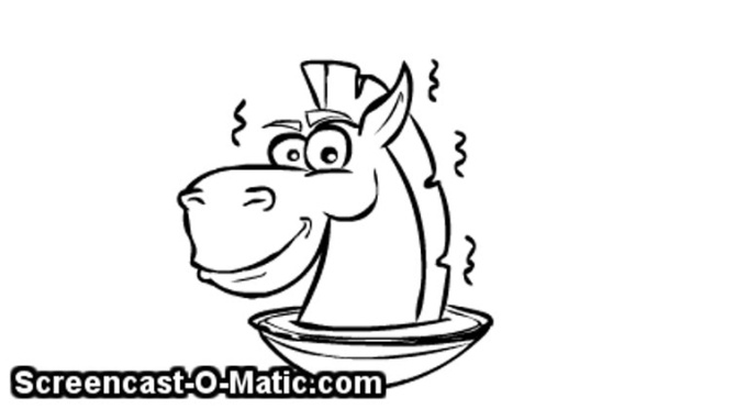 horse logo sikel