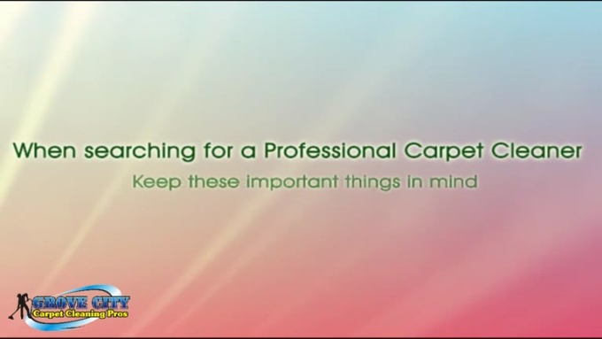 Grove City Carpet Cleaning Pros