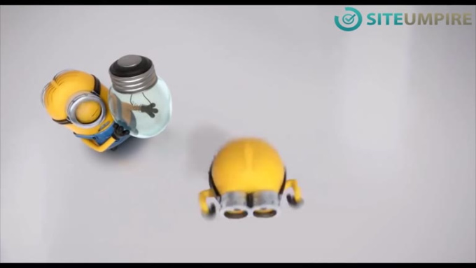 SiteUmpire Changing a light bulb Minion-HD AD v2 720p