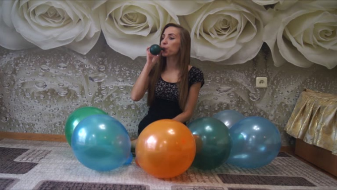 baloons size