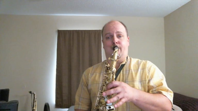 Song_203 Sax VIDEO RECORDING