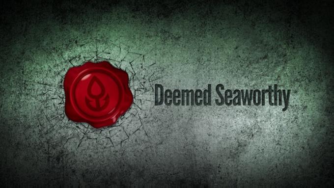 Deemed Seaworthy stamp FULL HD