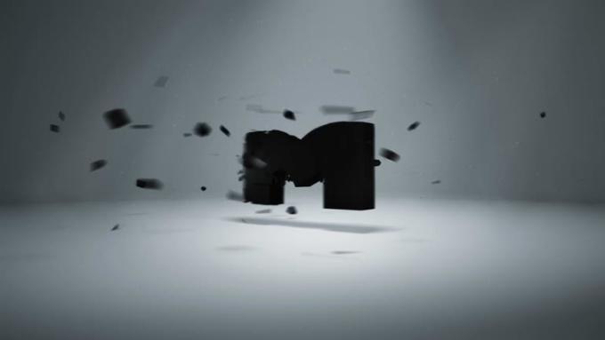 MR 3D Shatter logo FULL HD