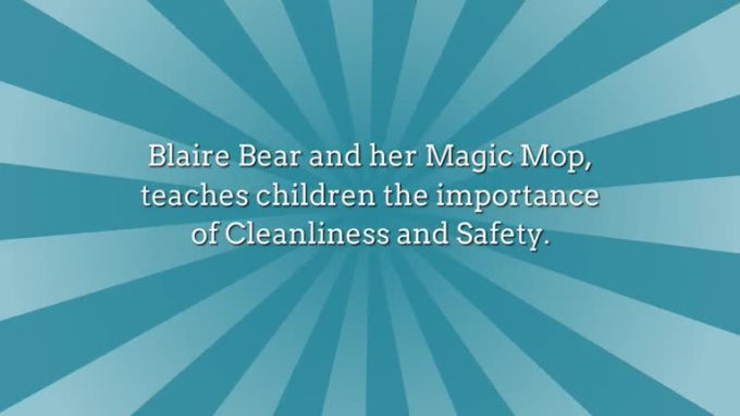 Blaire Bear and Her Magic Mop