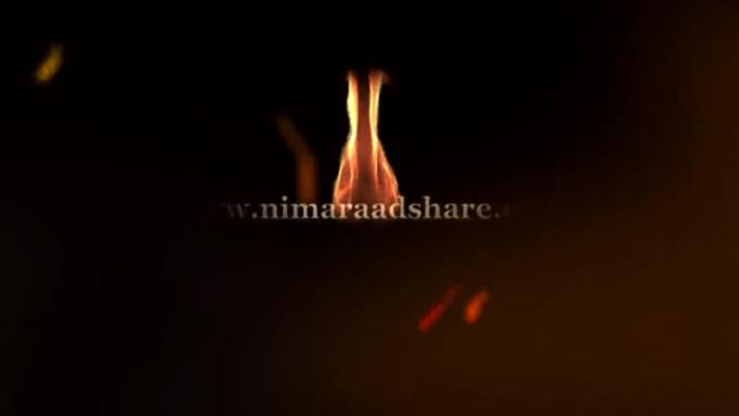 Fire_text_video_hd