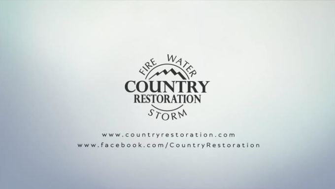 country restoration outro with music