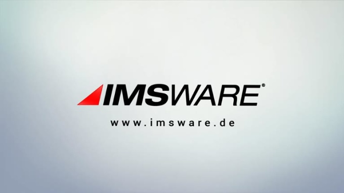 IMSWARE logo reveal 2