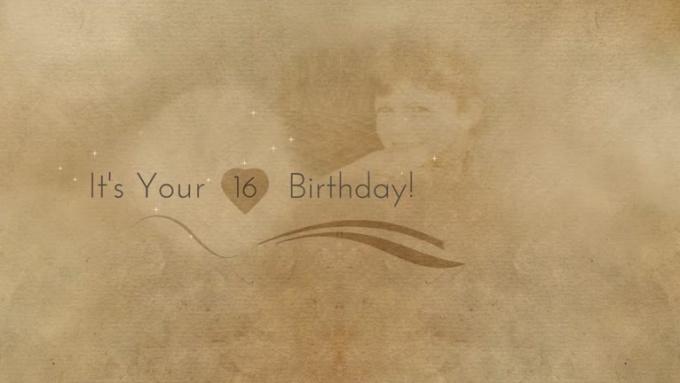 Happy 16