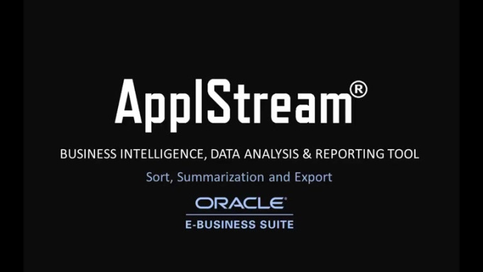 ApplStream_sorting_sumarization_tutorial