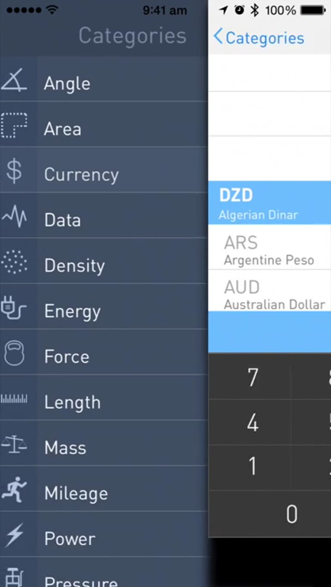 Convert Units - iPhone 5s App Preview Video