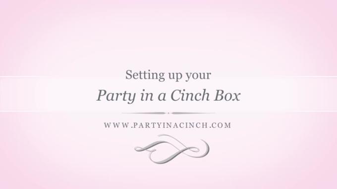 settingup partyinacinch video