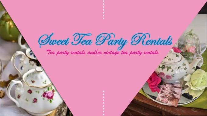 Sweet Tea party rentals