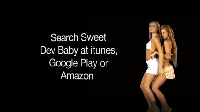two girls dance Dev Baby +20sec 1080p