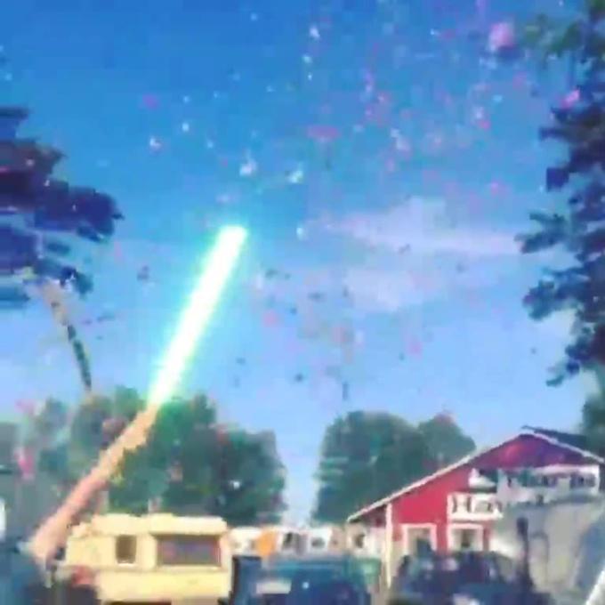 Confetti Blaster Saber Sound