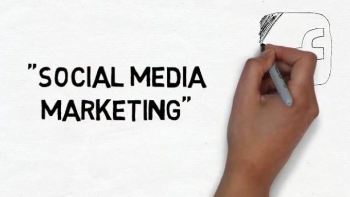 Social Media Marketing - Whiteboard Explainer Video