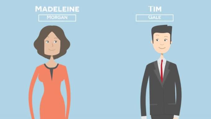 2d infographics animation