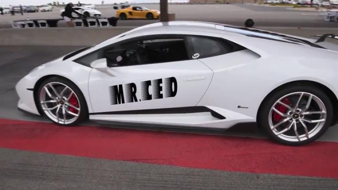 kenbeauvais White Lamborghini done