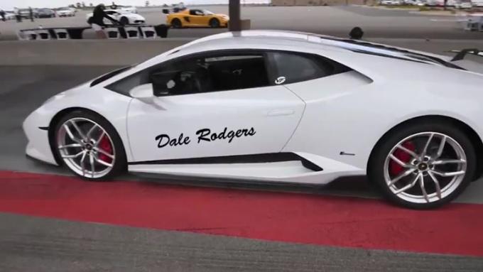 dalerodge White Lamborghini done