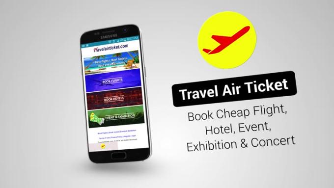Travel Air Ticket Android FULL HD Bonus