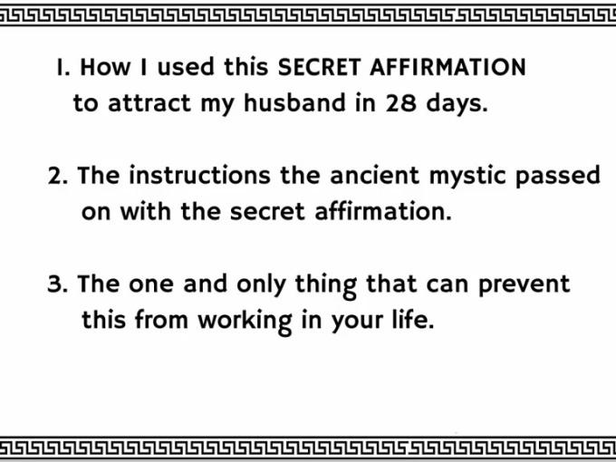 Love manifest